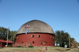 The Arcadia Round Barn, near Oklahoma City, OK